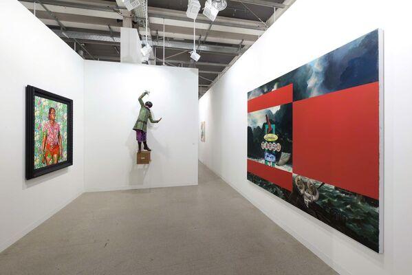 Stephen Friedman Gallery at Art Basel 2014, installation view
