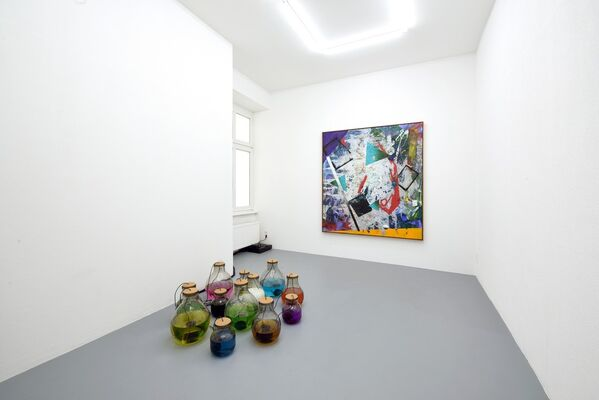 Taming Chaos. Tendency Masks and other Succulent Tricks to safeguard Balance, installation view