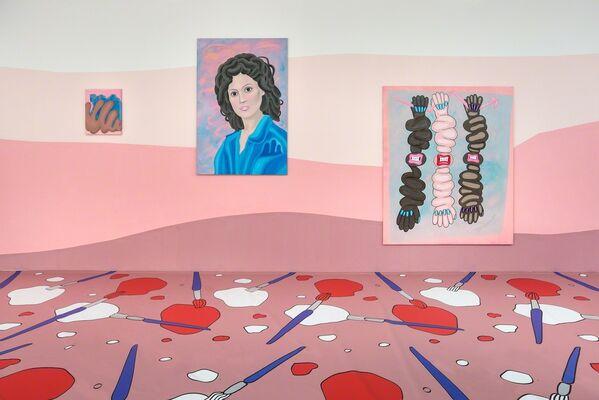 Marianne Vlaschits | *a disturbance travelling through a medium*, installation view