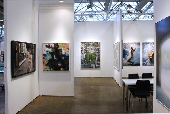 Bau-Xi Gallery at Art Toronto 2016, installation view