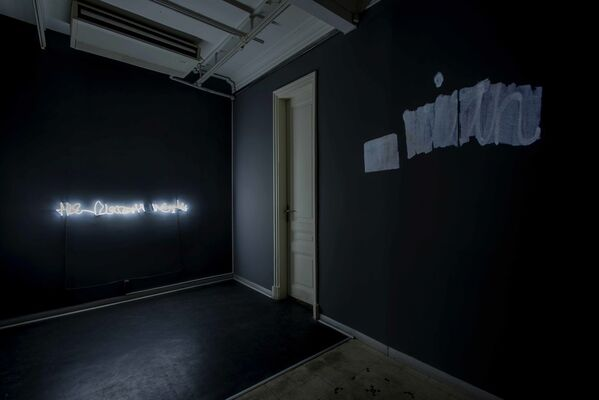 Writing Remains, installation view
