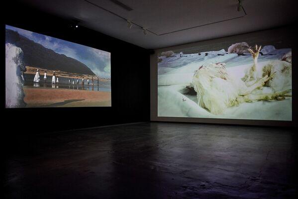 Qab'Imbola, installation view