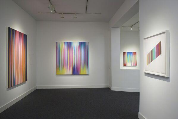 Tim Bavington: Feedback, installation view