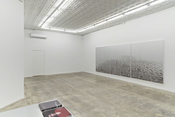 Rudolf Stingel: Part IV, installation view