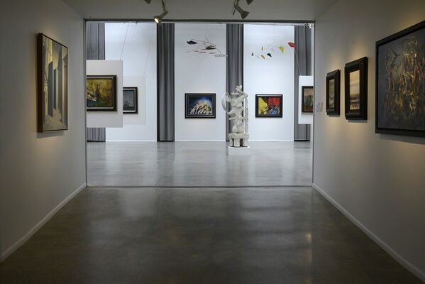 CHANCE MEETING ON A DISSECTING TABLE, installation view