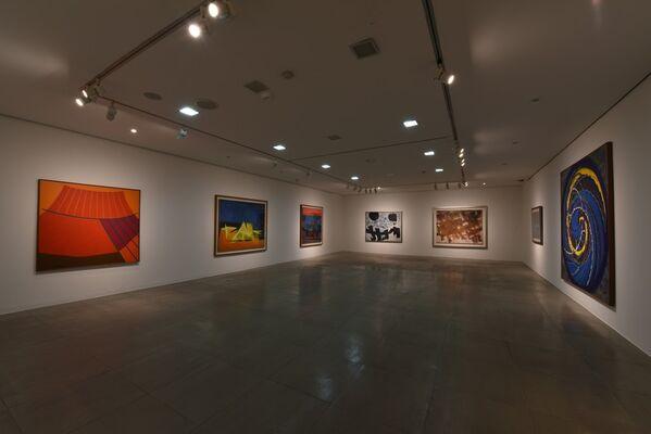 Korean Abstract Painting - 45th Anniversary of GALLERY HYUNDAI, installation view