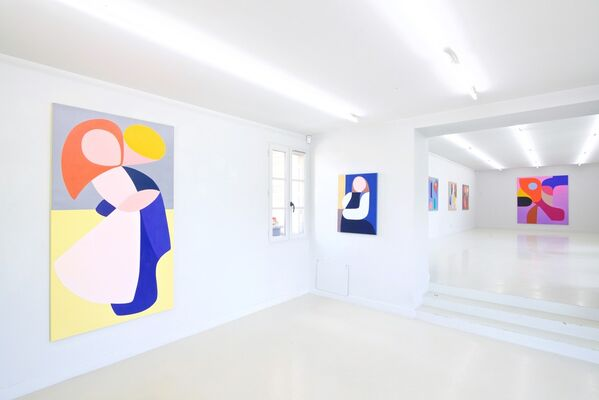 Stephen Ormandy: Shapes are colors !, installation view