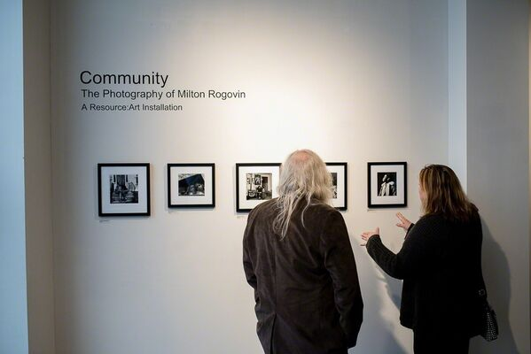 Community: The Photography of Milton Rogovin, installation view