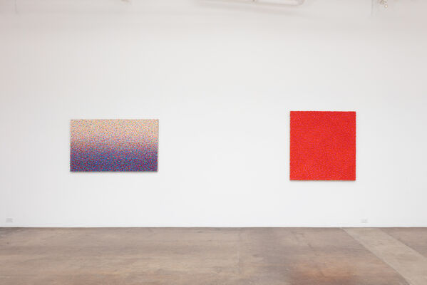Robert Sagerman: Permutation as Refinement, installation view
