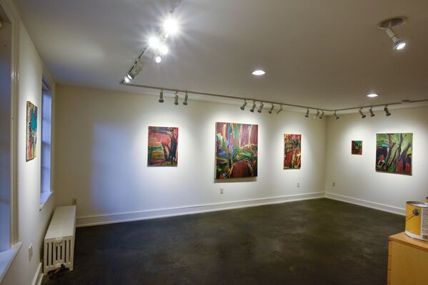 Pamela Cardwell, Painting, John Davis Gallery, Hudson, New York (photos Bill Massey), installation view