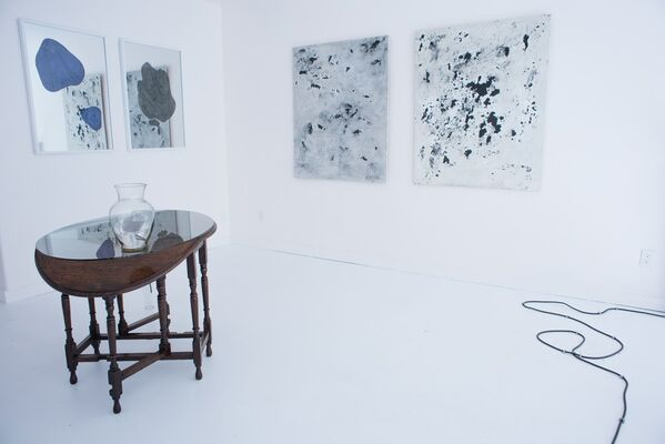 Full Moon in the Daytime, installation view