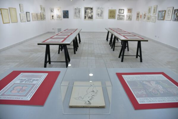 "Erotism and sexuality in the ""Golden Age"" – Ceaușescu's dictatorship, 1965-1989, installation view"