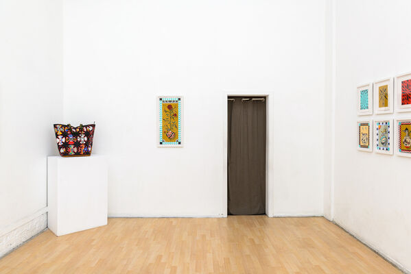 Wherever I May Roam: Ben Venom & Alex Ziv, installation view