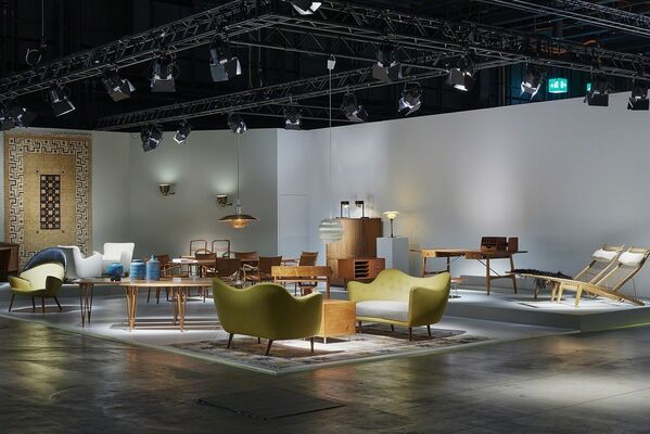 Dansk Møbelkunst Gallery at Design Miami/ Basel 2015, installation view