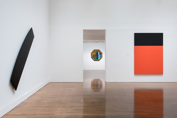 Embracing the Contemporary: The Keith L. and Katherine Sachs Collection, installation view