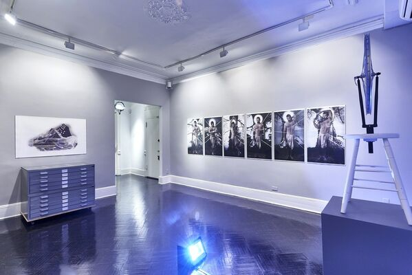 Álvaro Barrios: Portrait of the Artist as a Medium, installation view