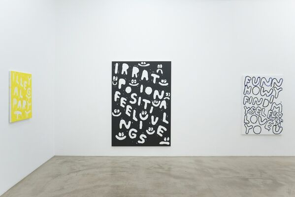 Stefan Marx 'Another Weekend', installation view