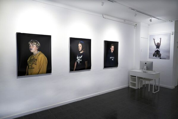 The Bears, installation view