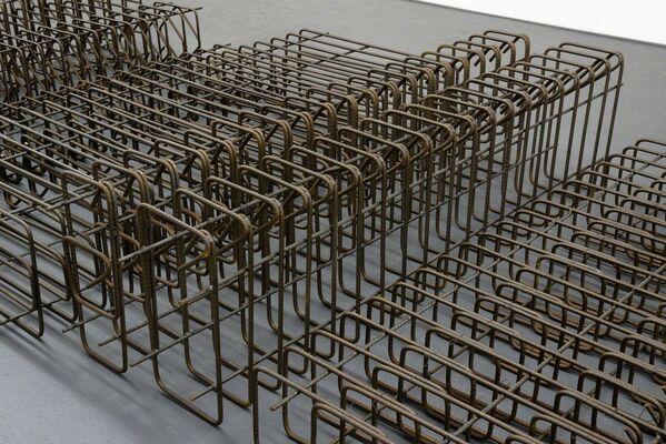 Petros Moris:  Copies and Columns, installation view