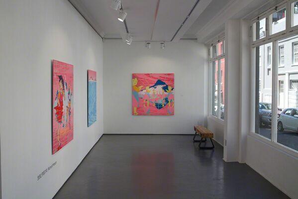 放浪と学習の年 | Richard Mason, installation view