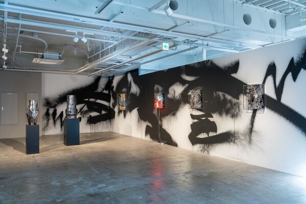 Anselm Reyle - Another Day To Go Nowhere, installation view