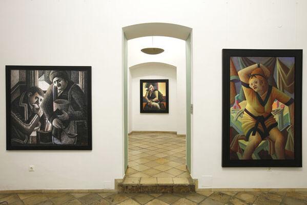 Wolfgang Herzig, installation view