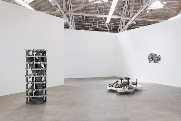Earthflash, installation view