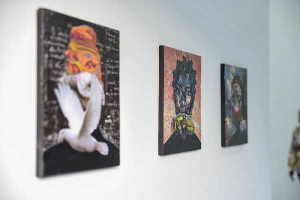 Collage Broadly Defined, installation view
