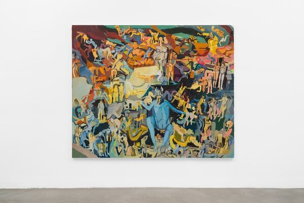 Clintel Steed: Allegory of Now, installation view