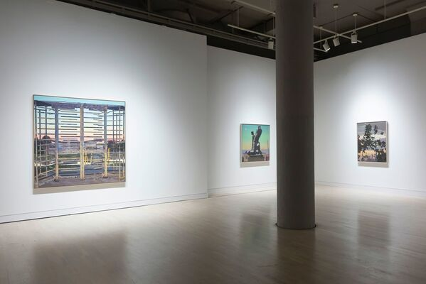 John Moore: Counterpoint, installation view