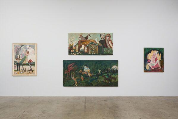 Jon Serl: The Hawk of Elsinore, installation view