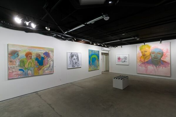 ACTES D'AMOUR, installation view