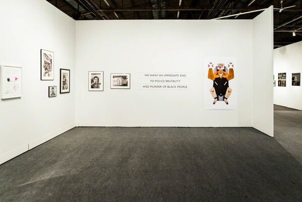 Minor Matters Books at The Photography Show 2019, presented by AIPAD, installation view