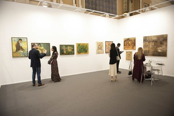 Gallery One at Art Dubai 2019, installation view