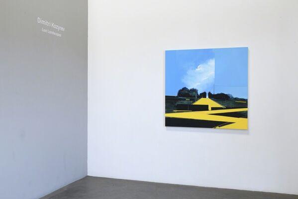 "Dimitri Kozyrev ""Lost Landscapes"", installation view"