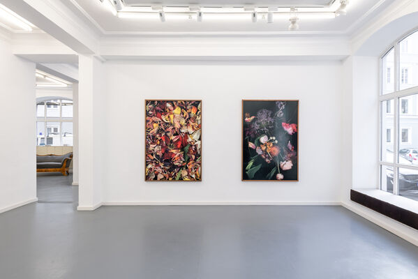 Galerie Andreas Binder at Art Miami 2020, installation view