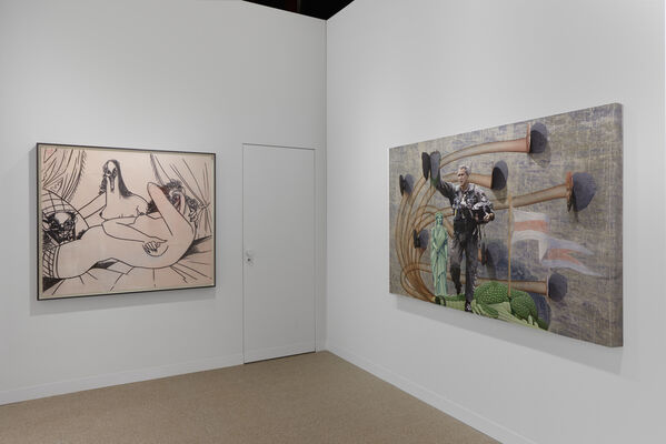 Simon Lee Gallery at Art Basel 2019, installation view