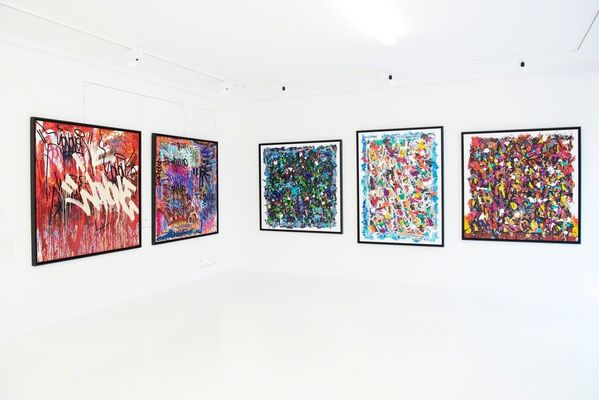KOLLY GALLERY at SCOPE Basel 2018, installation view