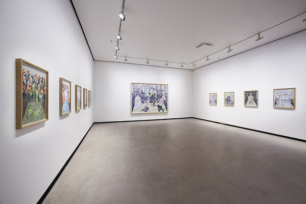 Bo Haglund - It's your turn now, installation view