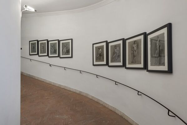 ROME- PARIS. Academies face to face. The Accademia di San Luca and the French artists, installation view