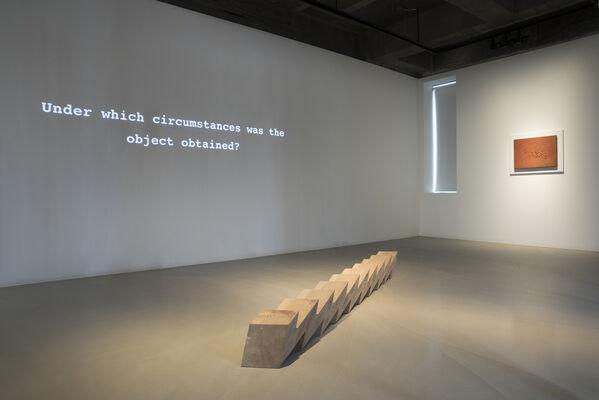 In Lieu of Higher Ground, installation view