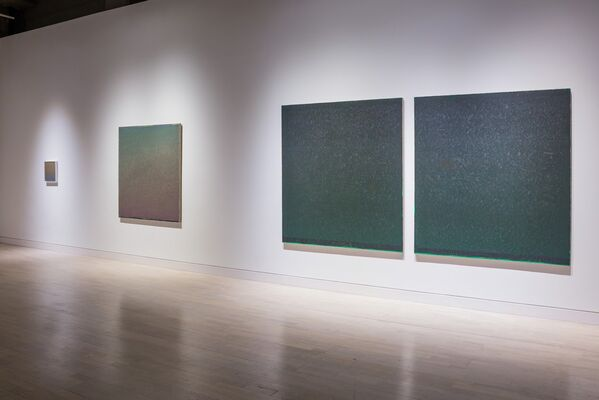 Pulse, Shift, Paint, Drift: Rhythms of Warren Rohrer, installation view