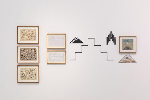 Hamish Fulton A Walking Artist, installation view