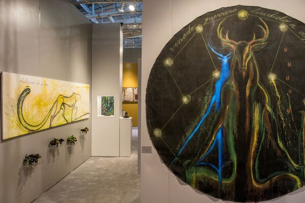 Trotta-Bono Contemporary at The San Francisco Fall Antiques Show 2016, installation view