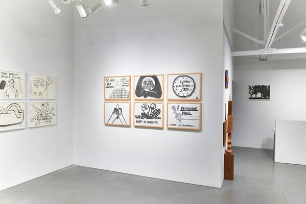 Resolutions for a New Year, installation view