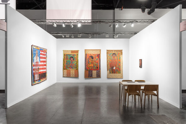 Pippy Houldsworth Gallery at Art Basel in Miami Beach 2019, installation view