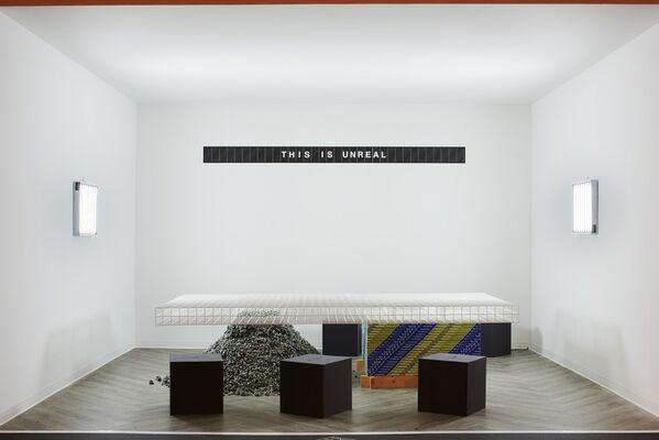 Virgil Abloh at Design Miami/ 2016, installation view