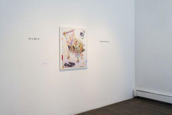 Conrad Atkinson: as u like it, installation view