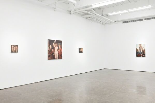 Observer, installation view