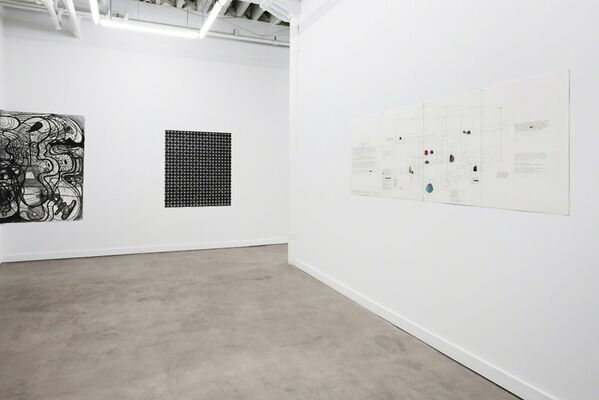 Four Large Drawings, installation view